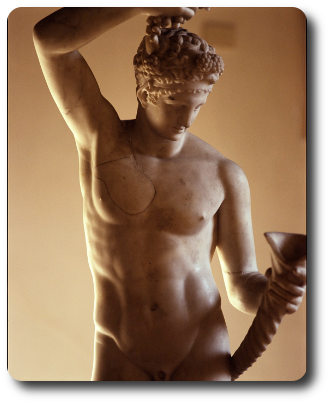 Dioniso Opera fotografica di Lorenzo Scaramella
