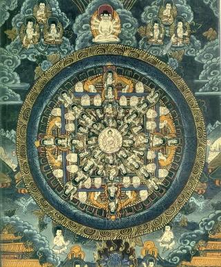 Mandala nepalese di proprietà dell'autore
