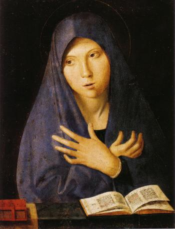 L'Annunziata di Monaco, Antonello da Messina (sec. XV)