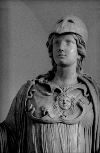 Atena - Opera fotografica di Lorenzo Scaramella