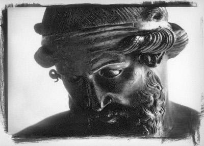 Dioniso - Opera fotografica di Lorenzo Scaramella