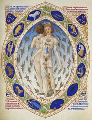 Raffigurazione dell'Anima Mundi  secondo l'astrologia rinascimentale