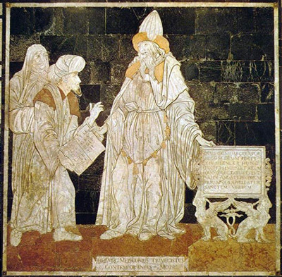 Ermete Trimegisto,  cattedrale di Siena