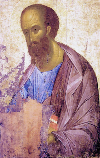 Rublev, S. Paolo, c. 1410