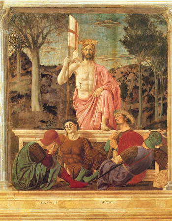 Piero della Francesca, Resurrezione, 1460 ca.