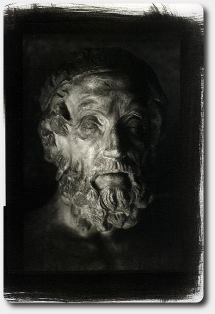 Omero: opera fotografica di Lorenzo Scaramella