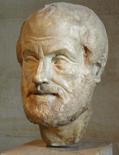 Aristotele - Museo del Louvre