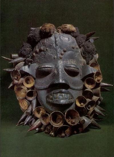 Africa, Costa d'Avorio - Maschera di N'gere Wobe