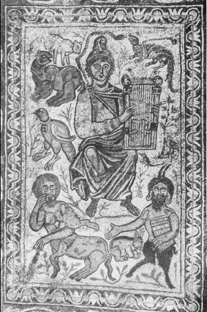 Orfeo - Mosaico - Museo archeologico di Istanbul