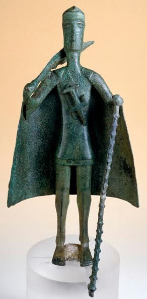 Bronzetto VIII sec, a.C. da Uta (Museo Nazionale, Cagliari)