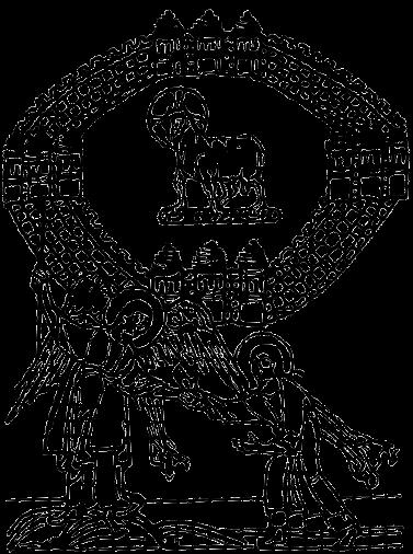 Gerusalemme celeste. Da una miniatura dell'Apocalisse di Bamberga, ca 1020.