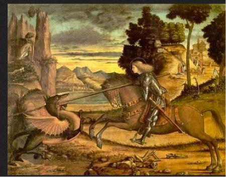 S, Giorgio e il drago (Carpaccio)