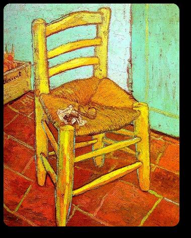 Vincent Van Gogh - Sedia con pipa, 1888