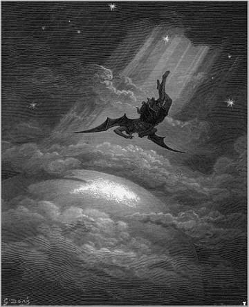 La caduta di Lucifero (Gustave Doré, 1886)
