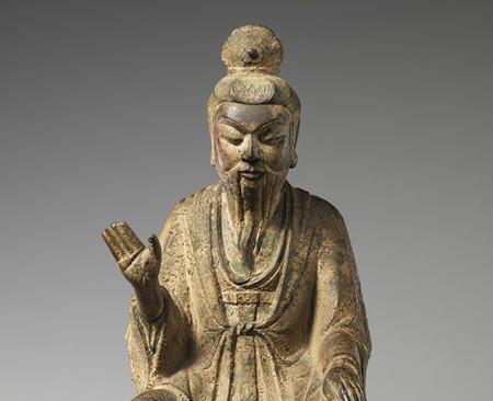Lao- tzu. Scultura (8° - 11° sec.)