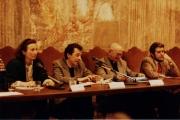 <p>da sinistra: M.P. Rosati, C. Rugafiori, J.Ries, M. Hulien</p>