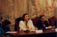 <p>Maria Pia Rosati e Pietro Prini</p>