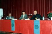 <p>Dalla sinistra: Roger du Paquier, Armand Abécassis, Julien Ries</p>