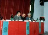 <p>Da destra: Gilbert Durand, Julien Ries, Armand Abécassis</p>