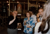 <p>Maria Pia Rosati traduce  l'intervento di Julien Ries alla mostra 'L'arte del buddismo Mikkyo'</p>