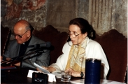 <p>Julien Ries e Maria Pia Rosati</p>