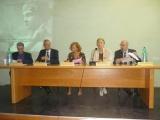 <p>Da sinistra: Giuseppe Scattolin, Fabio Marzocca, Maria Claudia Loreti, Maria Pia Rosati, Lorenzo Scaramella</p>