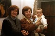 <p>Da sinistra: Annamaria Iacuele, Maria Pia Rosati, Maria Ying Durand</p>