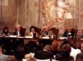 <p>da sx: interprete, Franco Michelini Tocci, Françoise Bonardel, Julien Ries, Paolo Miccoli </p>