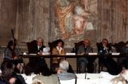 <p>da sx: interprete, Franco Michelini Tocci, Françoise Bonardel, Julien Ries, Paolo Miccoli</p>