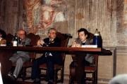 <p>da sinistra:  Julien Ries, Paolo Miccoli, Claudio Rugafiori</p>
